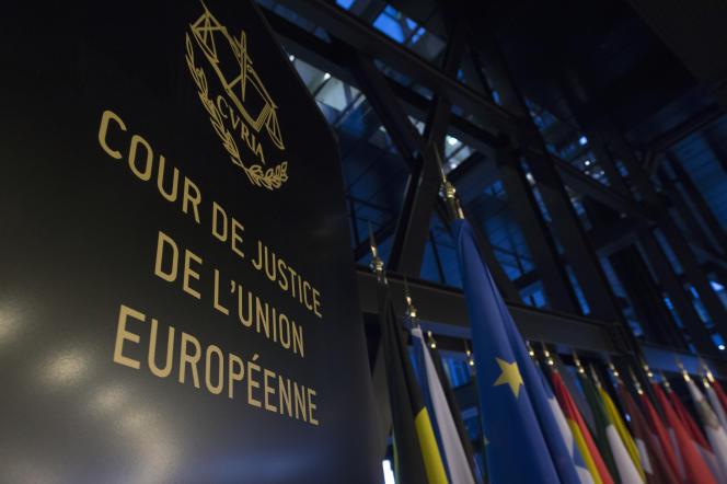 La CJUE, à Luxembourg, en décembre 2014.