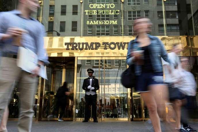 La Trump Tower, en mai 2016