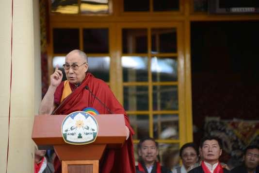 Le dalaï-lama à McLeod Ganj (Inde) le 27 mai 2016.