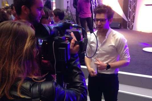 Mathieu Buonafine, premier prix du jury et finaliste de « Ma thèse en 180 secondes».