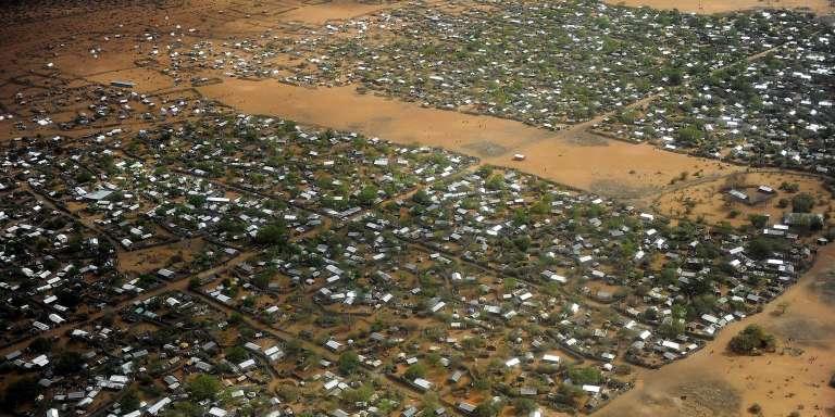 Une vue de l'immense camp de réfugiés de Dadaab, à la frontière entre le Kenya et la Somalie, 23 juillet 2011.