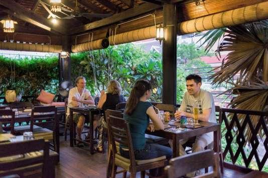 Le sugar Palm, l'un des meilleurs restaurants de cuisine Khmère.