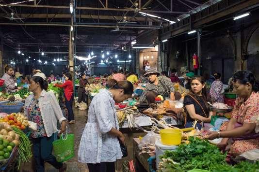 Le vieux marché restauré.
