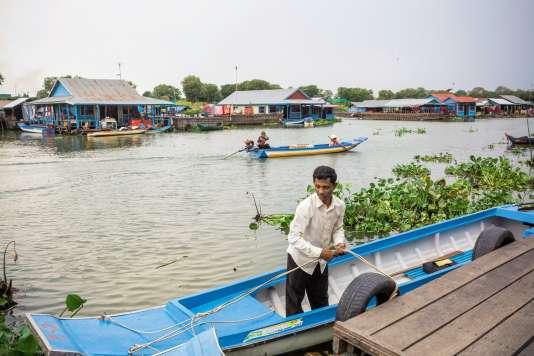 Eco-tour sur le lac Tonle Sap.