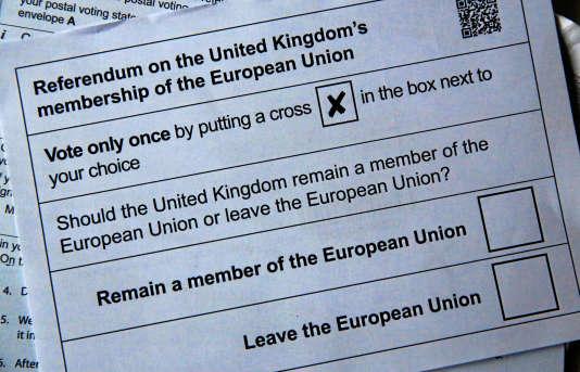 Les enquêtes d'opinion sur le « Brexit»montrent des résultats très disparates.