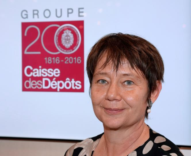 Odile Renaud-Basso, alors directrice générale adjointe de la Caisse des dépôts. Elle bénéficiait du soutien du secrétaire général de l'Elysée, Jean-Pierre Jouyet