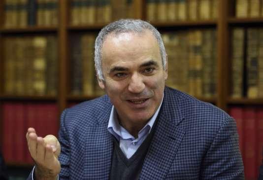 Garry Kasparov, le 20 octobre 2015.