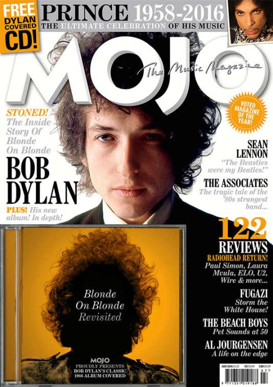La couverture de la revue musicale «Mojo», édition de juillet 2016.
