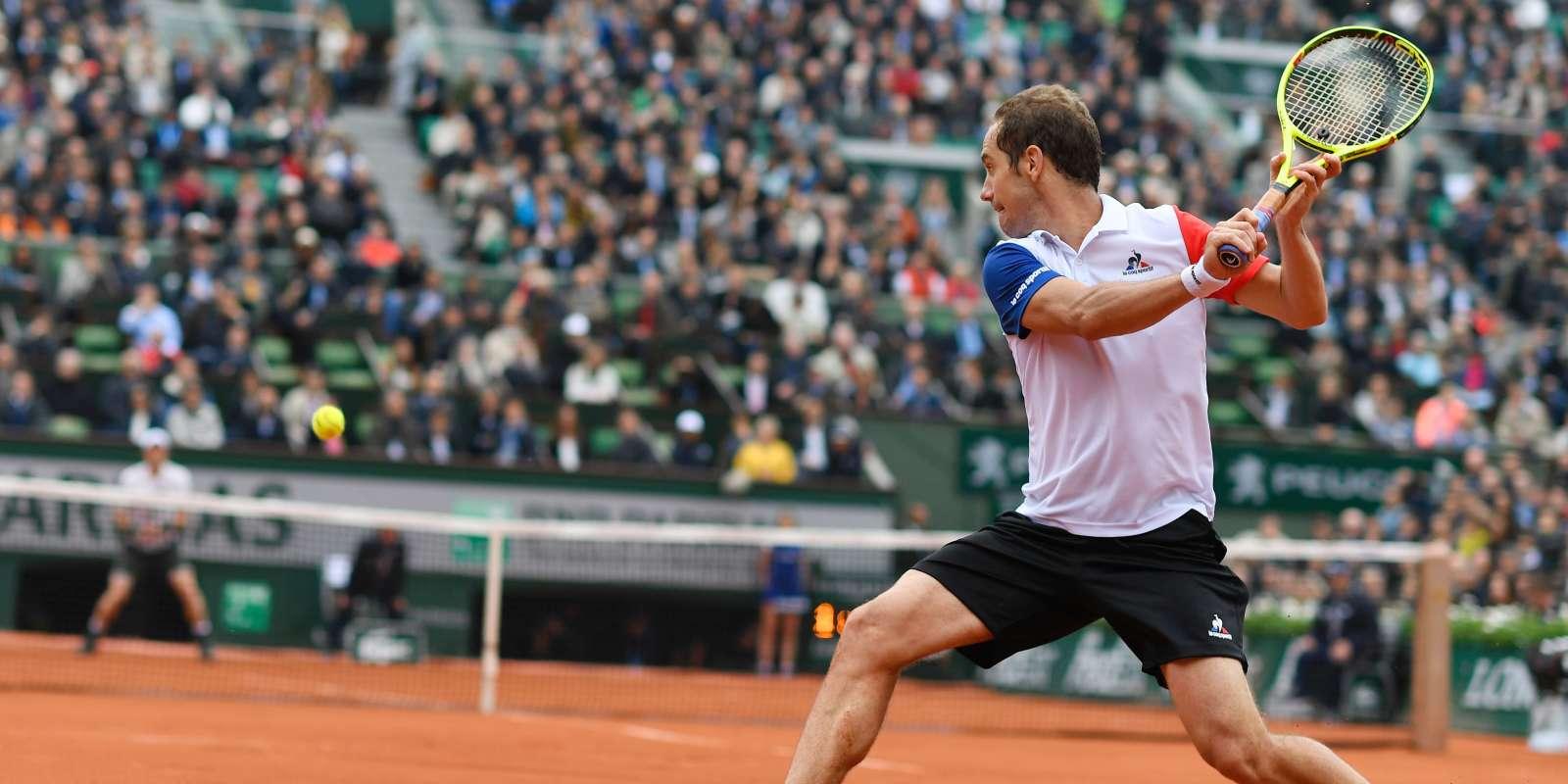 Le Français Richard Gasquet, n°12 mondial, dispute le premier quart de finale de sa carrière à Paris face à l'Ecossais Andy Murray(n°2).