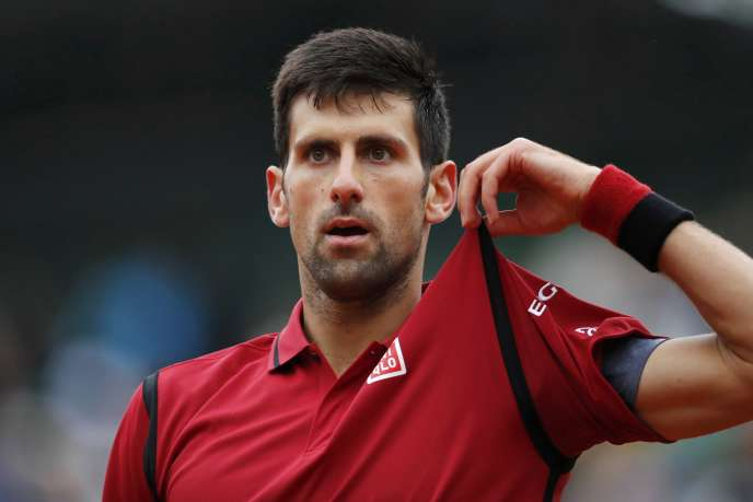 Novak Djokovic face à Tomas Berdych, le 2 juin.
