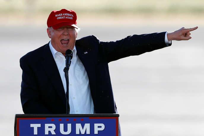 Donald Trump, à Sacramento, le 1er juin.