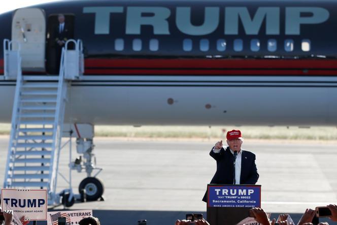 Donald Trump à Sacramento (Californie), le 1er juin 2016.