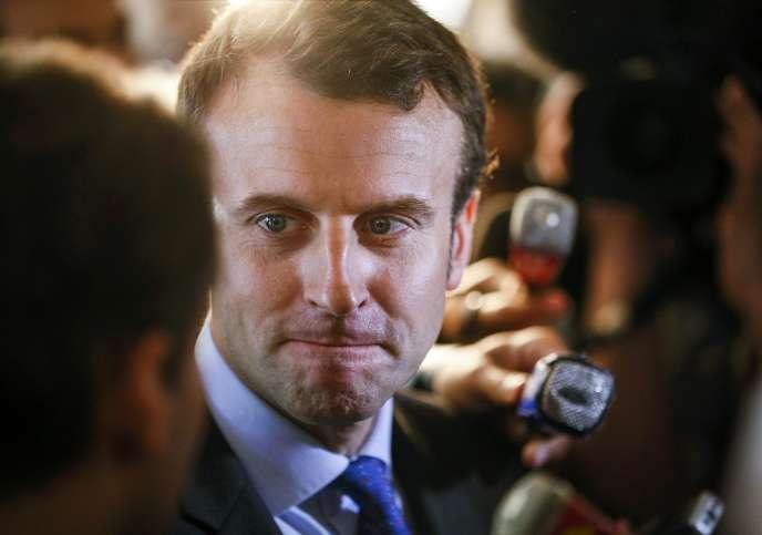 Le ministre de l'économie Emmanuel Macron, le 2 juin.