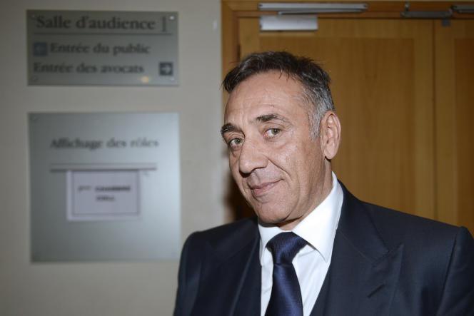 Jean-Luc Barresi, le 20 novembre 2012, au palais de justice de Marseille.