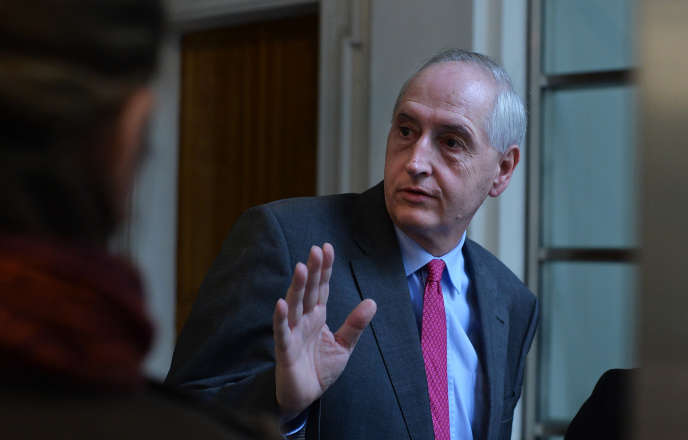 Le préfet de police de Paris, Michel Cadot, le 16 avril 2016.