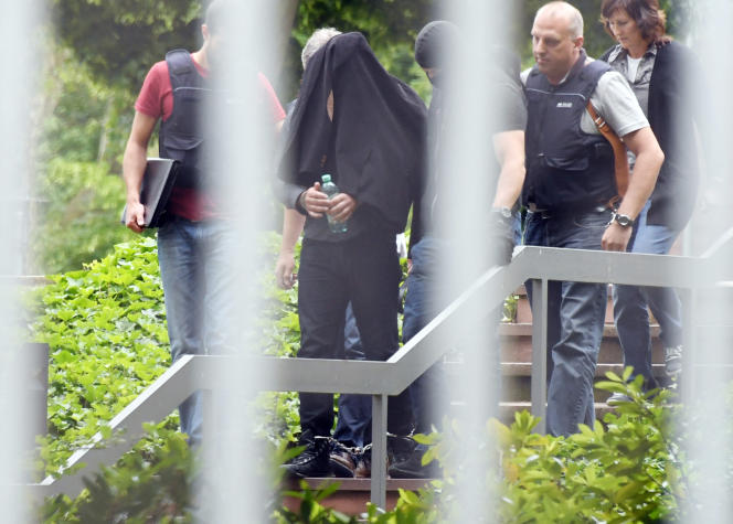L'un des trois suspects de terrorisme arrêtés jeudi 2 juin en Allemagne.