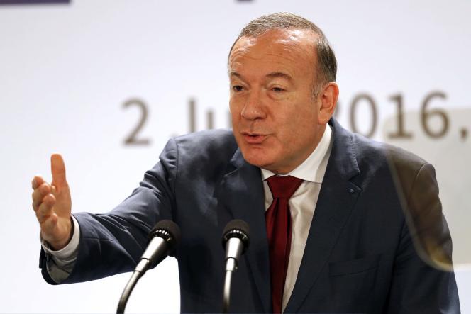 Pierre Gattaz, à Paris, le 2 juin 2016.