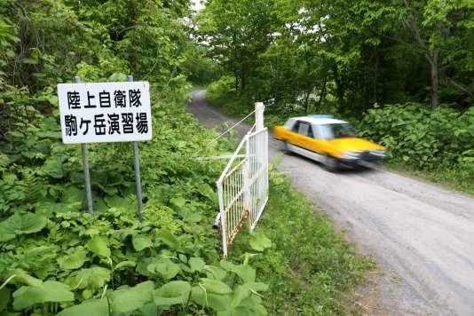 Photo prise le 3 juin 2016 de la zone militarisée d'Hokkaido dans laquelle s'est réfugié le garçon.