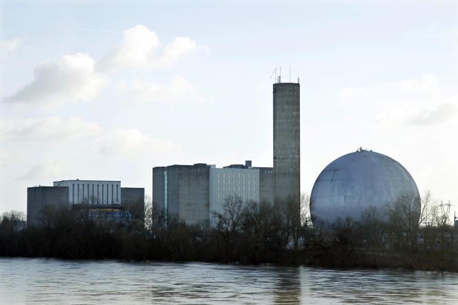 La centrale de Chinon (Indre-et-Loire).