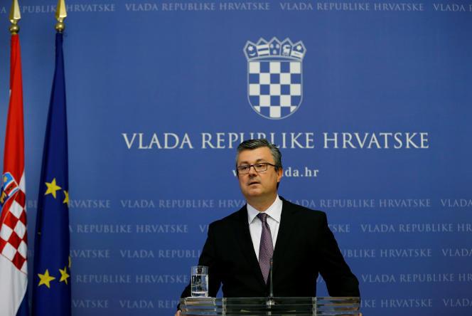 Le premier ministre croate, Tihomir Oreskovic, le 3 juin.