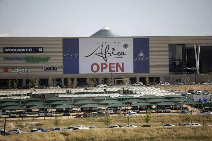 Le centre commercial« Mall of Africa» a ouvert ses portes le 18 avril et symbolise la fièvre acheteuse des Sud-Africains