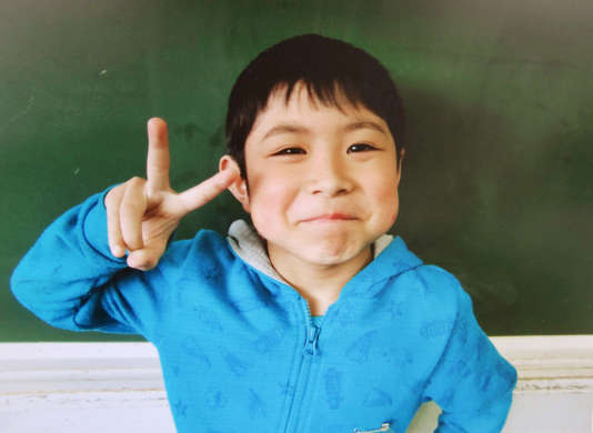 Yamato Tanooka, 7 ans.