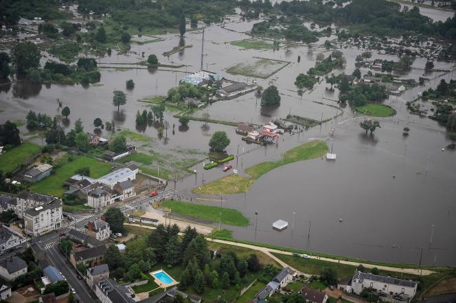 La région de la Loire est particulièrement touchée par les intempéries et les innondations