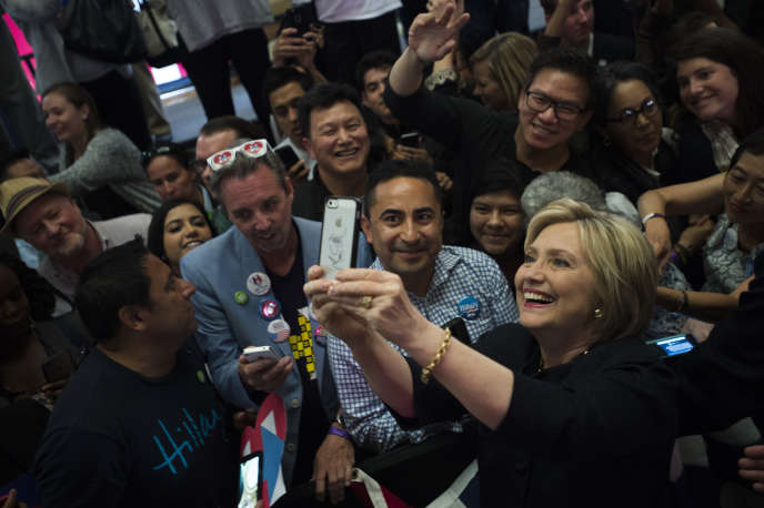 Hillary Clinton, à San Francisco, le 26 mai 2016.