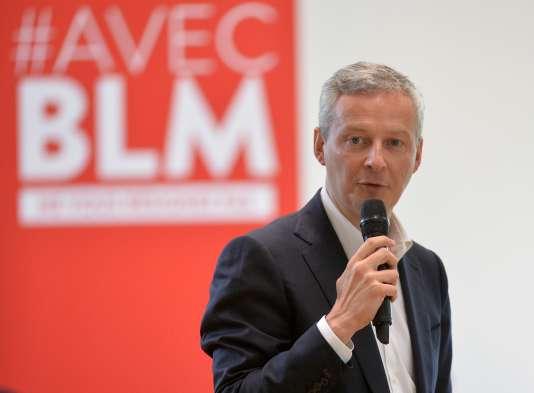 Bruno Le Maire, le 3 juin 2016.