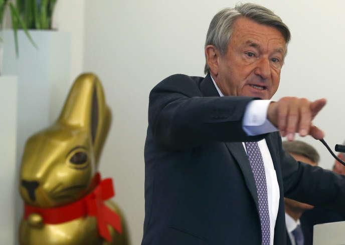 Ernst Tanner, actuel PDG de Lindt, cède sa place et deviendra directeur exécutif du groupe suisse