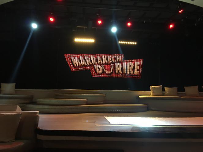 La scène du festival international d'humour, le Marrakech du rire.