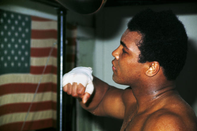 Ali à Miami Beach, en Floride, en 1970.