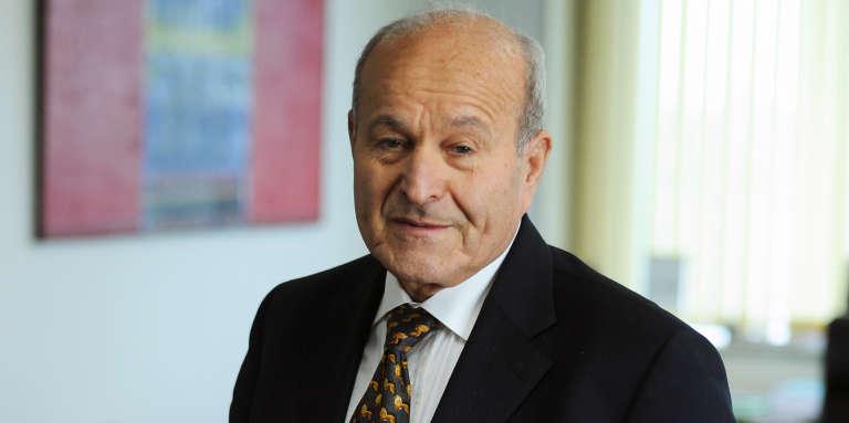 Issad Rebrab, entrepreneur algérien, le 30 janvier 2014.