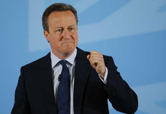 Le premier ministre britannique David Cameron, le 17 mai à Londres.