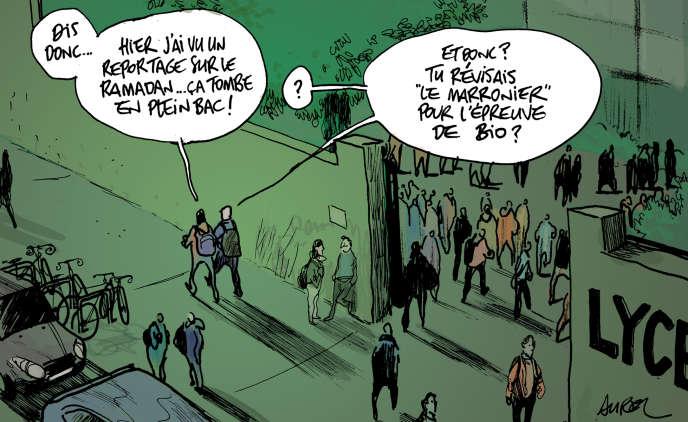 Calendrier Ramadan Marseille 2020.Bac Et Ramadan Une Difficile Conciliation