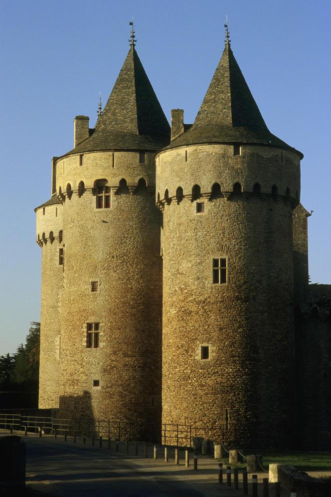 Le château de Suscinio, l'anciennerésidence des Ducs de Bretagne.