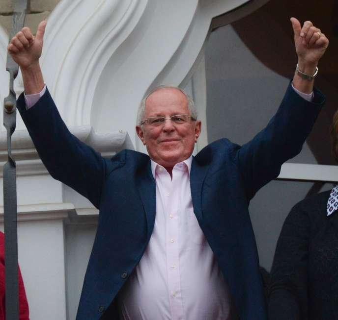 Pedro Pablo Kuczynski, le 5 juin, à Lima.