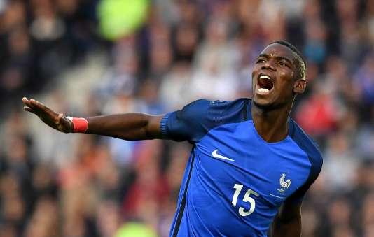 Paul Pogba, lors du match France-Cameroun au stade de la Beaujoire, à Nantes, le 30 mai.