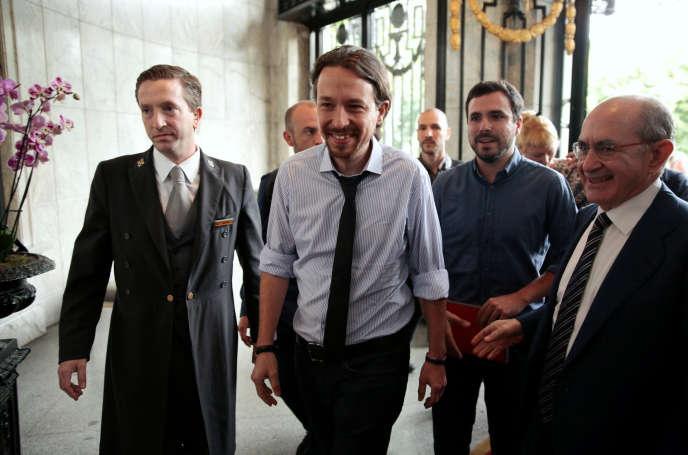 Pablo Iglesias à Madrid, le 6 juin 2016.