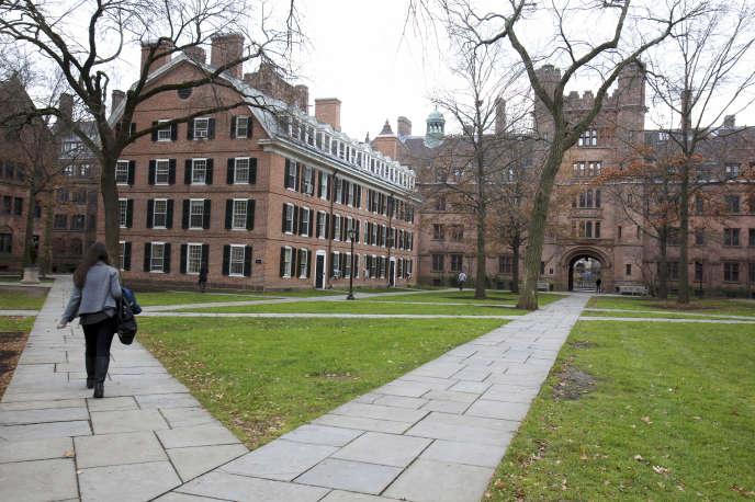 Le campus de Yale University à New Haven (Connecticut), le 28 novembre 2012.