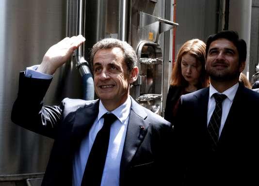 L'ancien chef de l'Etat Nicolas Sarkozy, ici le6 juin2016, est mis en examen dans cette affaire pour financement illégal de campagne électorale.