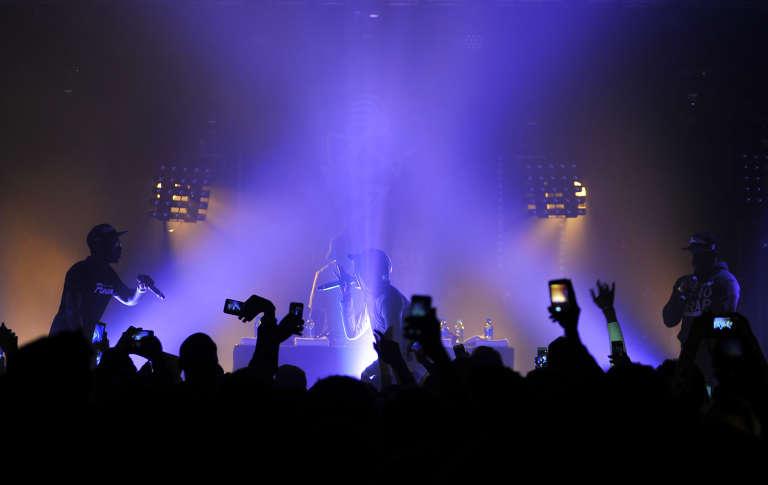 Lors du concert de MHD au Printemps de Bourges, le 16 avril 2016.
