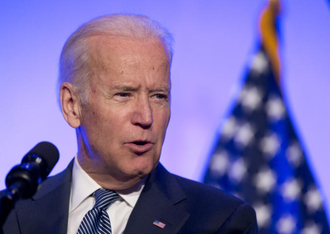 Le vice-président des Etats-Unis, Joe Biden, à Washington, le 9 mai 2016.