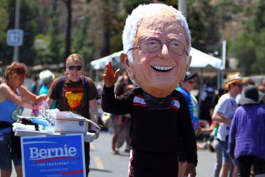 Manifestation de soutien au candidat à l'investiture démocrateBernie Sanders, dimanche5juin à San Diego, en Californie.