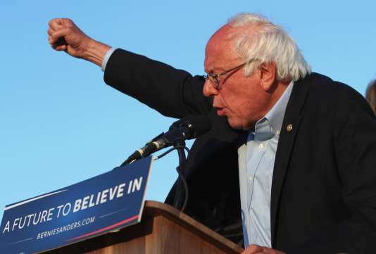 Bernie Sanders, 5 juin, à San Diego.