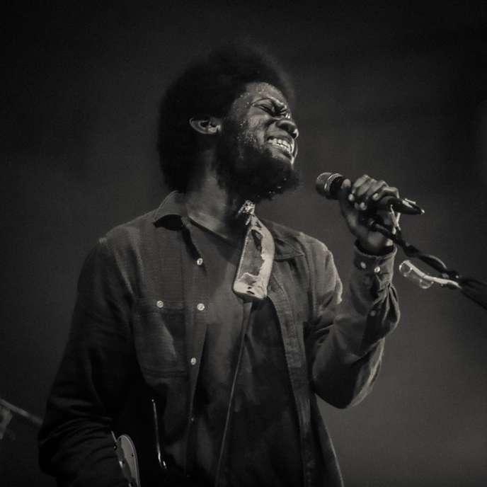 Le chanteur anglais Michael Kuwanika était à l'affiche de la deuxième édition du festival Afropunk qui se tenait les 4 et 5 juin au Trianon à Paris.