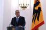 Le président de la République fédérale d'Allemagne, Joachim Gauck, au château de Bellevue, à Berlin, le 6 juin.