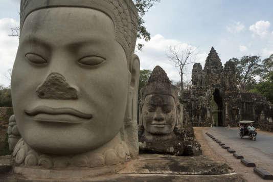 Les ruines du temple deBanteay Samré.