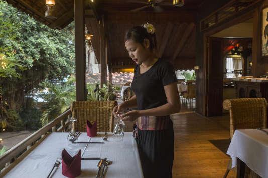 Au Café Indochine, ancien siège de l'Unesco à Siem Reap.