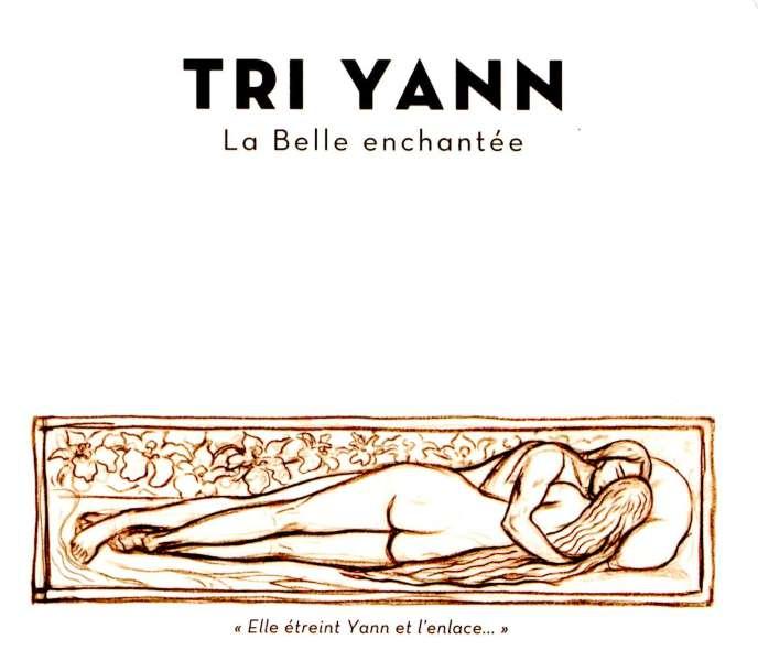 La pochette originale de l'album de Tri Yann, « La Belle enchantée».